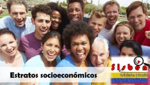 Estratos Socioeconómicos del Sisbén