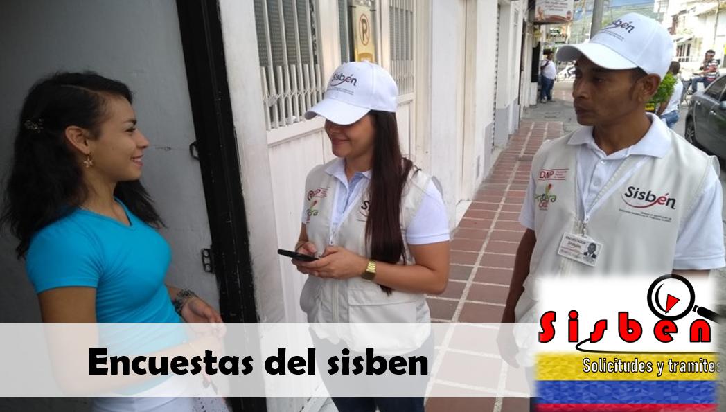 Nuevas encuestas del Sisbén Colombia