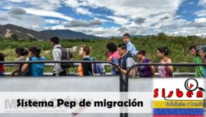 Sistema PEP de Migración Colombia